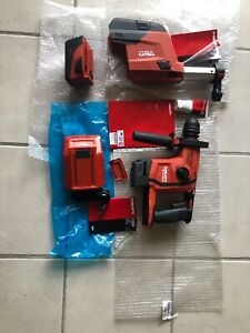 Hilti Te 6 a22 Cordless Rotary Hammer Drill Avr Everything In Picture