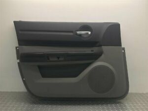 2008 Dodge Charger Driver Front Door Panel Power Grey Oem 1cu971dbac