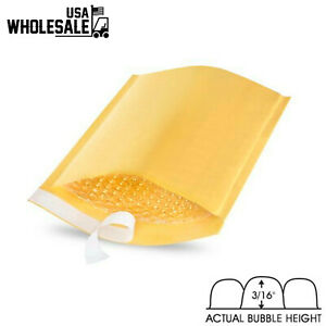 Kraft Bubble Mailers Padded Envelopes Shipping Bags Pack