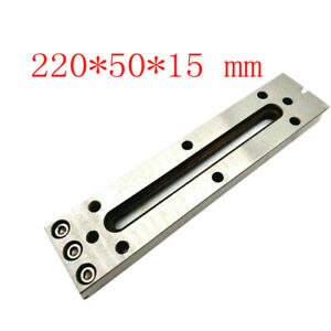 1x Wire Edm Fixture Board Stainless Jig Tool For Clamping And Level 220x50x15mm