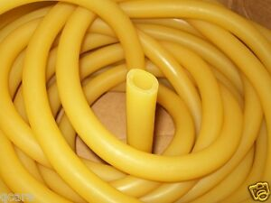 20 Feet 1 2 I d X 1 8 Wall X 3 4 O d Latex Rubber Tubing Surgical Amber
