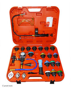 Radiator Vaccum And Pressure Testing Cooling System Set Automotive Tool Tools
