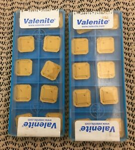 30 New Valenite Carbide Milling Inserts Seer 1203 Afer