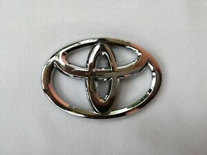 Fit For Toyota Car Steering Wheel Badge Emblem Sticker 65mm X 45mm