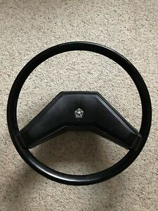 1978 1986 Dodge Ram power Wagon Truck Steering Wheel beautiful Near Mint