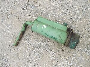 Oliver 77 Rowcrop Tractor Gas Engine Motor Oil Bath Precleaner Assembly