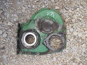 Oliver 66 Rowcrop Tractor Engine Motor Front Cover Panel