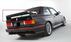 Bmw 3 Series M3 E30 Evo Look Rear Boot Trunk Spoiler New Tailgate