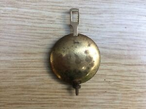 Gold Coloured Metal Mantle Clock Pendulum Spares Parts
