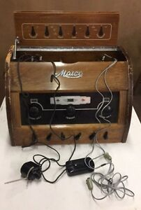 Vintage Maico Precision Hearing Test Instrument Oddities Steampunk Medical