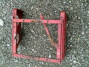 Farmall A Tractor Original Ih Seat Mounting Brackets Serial Number Tag