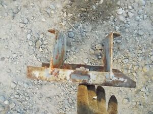 Allis Chalmers B Tractor Ac Main Radiator Support Crank Align Bracket To Tractor
