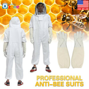 Beekeepers Bee Beekeeping Gloves Suit Ventilated Protective Premium Quality