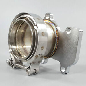 3 V band Adaptor Flange For Down Pipe For Cummins Holset Wh1c Hx35 Hx35w Hx40
