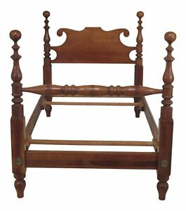 F46928ec Stickley Cherry Valley Single Twin Cherry Cannonball Bed
