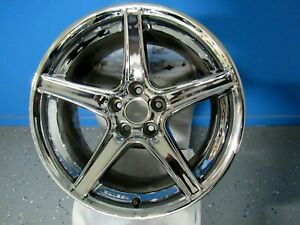 Ford Mustang Saleen Style Wheel 18x9 30 Chrome 5x114 3 5x4 5 Used Wheel
