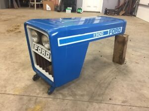 Ford 1300 Tractor Hood And Grill Assembly Sba350100280