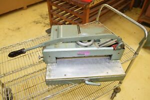Triumph Guillotine Commercial Paper Cutter Shear Trimmer