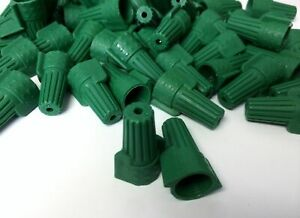 500 Pcs Green p11 Double Winged Twist Nut Wire Connectors Grounding Ground