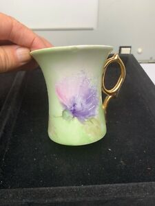 Vintage Hand Painted Coffee Tea Cup Only Lt 423