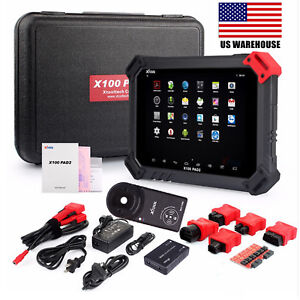 Xtool X 100 Pad2 Pro Obd2 Programmer Odometer Diagnostic Scan Tool For Vw Kc100