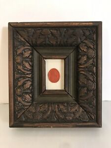 Antique 19th Century Carved Framed Intaglio Wax Seal Grand Tour Collection