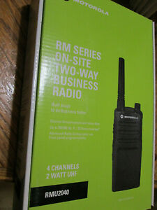 Motorola Rmu2040 Uhf Radio Business Band Ht 2080 4100 2020 1410