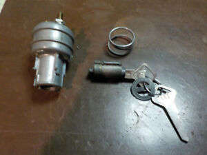 Vintage 1949 1951 Ford Mercury Igintion Switch With Lock Cylinder
