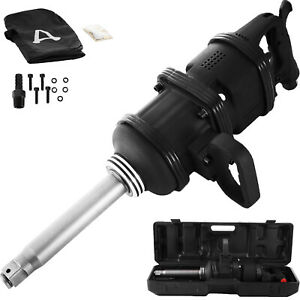 5020 Ft Lbs 1 Inch Air Impact Wrench Long Shank Grade Industrial Commercial Pro