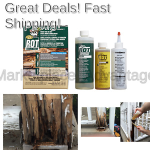 Pc Products 240168 Pc rot Terminator Epoxy Wood Hardener Two part 24oz In Tw
