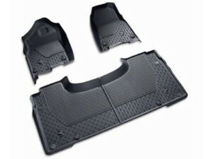 18 19 Dodge Ram Dt Crew Cab Black All Weather Slush Mats Floor Liner Mopar Oem