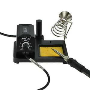 Aoyue 469 Variable Power 60 Watt Soldering Station With Removable Tip
