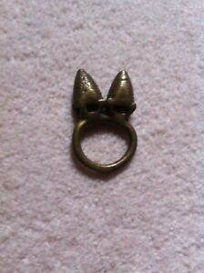 Rare Antique Dogon Ring African Bague Grenier Not Gold Weight