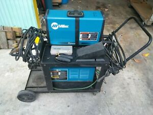 Miller Dynasty 200 Dx Welder With Coolmate 3 Used
