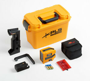 Pacific Laser Systems Pls 6r Kit Combination Line Point Red Laser Level Kit