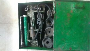 Greenlee Hydraulic Knockout Punch Set Model 767