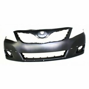 Bumper Cover For 2010 2011 Toyota Camry Se Model Usa Built Front Paintable Capa