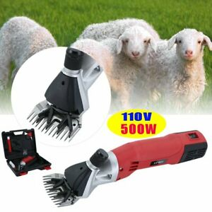 500w Electric Sheep Shears Goat Clipper Animal Shave Grooming Farm Supplies