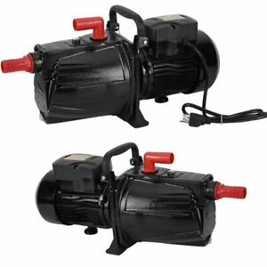 Shallow Or Deep Well Jet Pump 2 0 Hp 20gmp Convertible 110 Voltage Water Pump