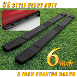 For 2005 2020 Nissan Frontier Crew Cab 6 Running Board Side Step Nerf Bar Blk S