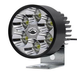 12v 30w Led Spot Light Motorcycle Scooter Moped Waterproof Led Head Light Lamp