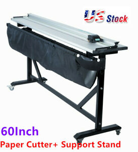 Usa 60inch Aluminum Alloy Large Format Paper Trimmer Cutter With Support Stand
