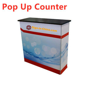 Seg Great Pop Up Counter For Trade Show Display