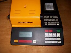 Sartorius Ma50 Moisture Analyzer Electronic Digital Instrument Ir Hitting Elemen