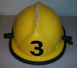 Cairns Helmet N660c Yellow Captain Firefighter Fireman Rescue Safety