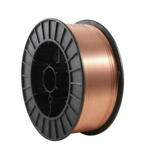 Er70s 6 Copper Coated Mig General Use Welding Wire 44 Lb X 0 035