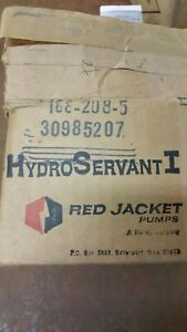 Red Jacket Pumps Hydro Servant Water Valve 188 208 5 nib