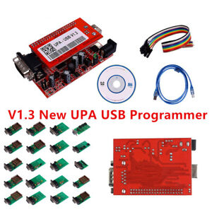 2018 V1 3 Type New Upa Usb Programmer Software Full Adaptors With Nec Function