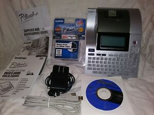 Brother P touch Pt 2700 Thermal Printer Professional High Performance Labeling