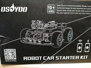 Osoyoo Robot Smart Car For Arduino Diy Learning Kit With Tutorial Android Ios A